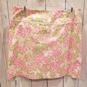 """NWOT BARELY WORN Lilly Pulitzer """"Butterfly"""" Skirt!"""